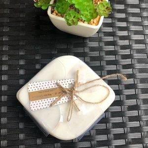 New marble coasters
